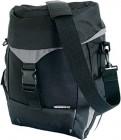 Basil Sports Einzeltasche schwarz mit Raincover