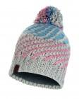 Buff Knitted & Polar Fleece Hat Nella