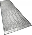 Thermarest RidgeRest Solar silver/blue