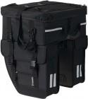 Basil Tour Travel Doppeltasche mit Topcase schwarz