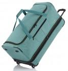 Travelite Basics Trolley Reisetasche Melange XL erweiterbar