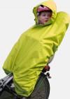 Haberland Regenschutz für Kindersitz mit Kind RSKIND gelb