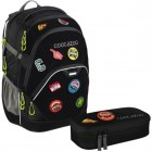 Coocazoo EvverClevver 2 Rucksack Patchy inkl.