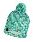 Buff Knitted und Polar Fleece Hat Livy