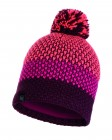Buff Knitted und Polar Fleece Hat Tilda